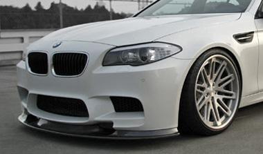 Kohlenstoff (コーレンストッフ) カーボンリップスポイラー BMW F10 M5 岡山